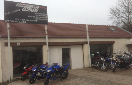 Adrena 39 ligne moto garage moto 95 bons plans et for Garage pneu paris